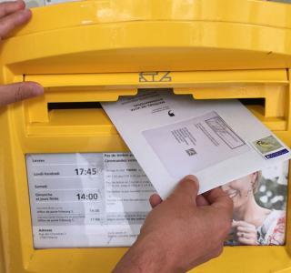 Briefliche Stimmabgabe
