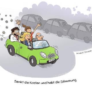 Fahrgemeinschaften bilden