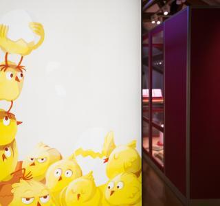 Une histoire d'oeuf - exposition