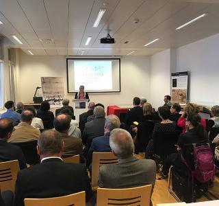 Vernissage des Buches Après Marignan la paix perpetuelle entre la France et la Suisse