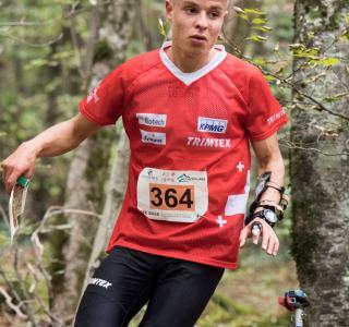 Jonas Soldini - prix d'encouragement de la Commission cantonale du sport 2018