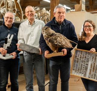 Von links nach rechts: Gregor, Emanuel, Michel, Sophie