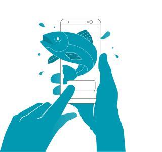 Elektronisches Fischereipatent