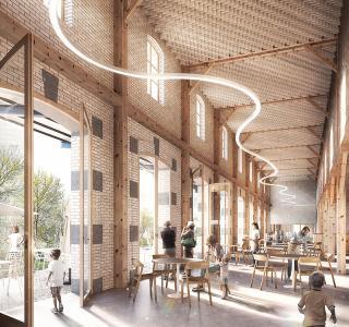 M13, Preisträgerprojekt des Architekturwettbewerbs  für das künftige Naturhistorische Museum Freiburg