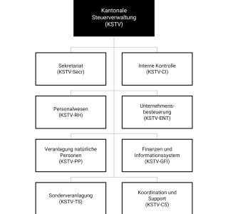 Organigramm KSTV