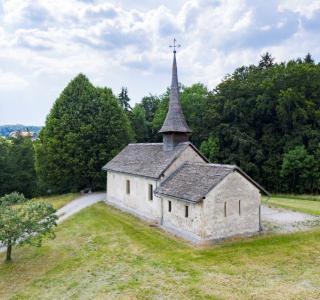 Les couleurs d'une ancienne église. Vers-Saint-Pierre à Treyvaux