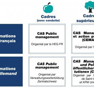 Formations certifiantes pour les cadres