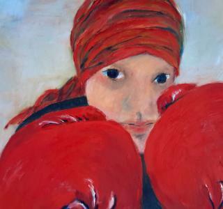 Boxing for freedom_(Sadaf_Rahimi) photo Isabelle Pilloud