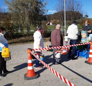 Collecte de déchets spéciaux à Belfaux