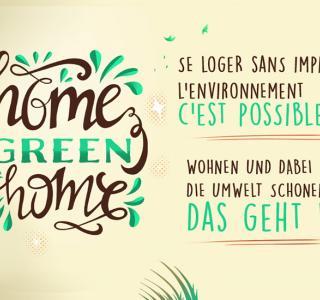 Wohnen und dabei die Umwelt schonen: Das geht