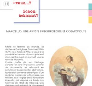 11 : Marcello une artiste fribourgeoise cosmopolite