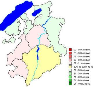 Résultat par districts