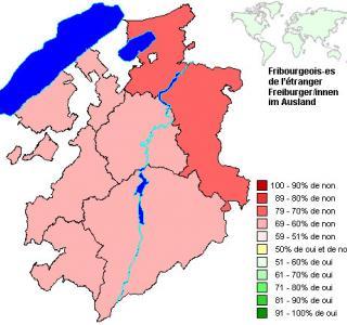 Résultats par districts: protection contre le tabagisme passif