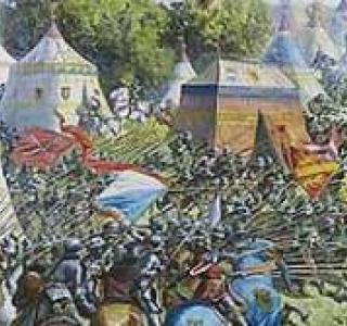 Panorama de la bataille de Morat
