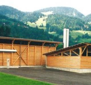 Centrale de chauffage au bois de Charmey