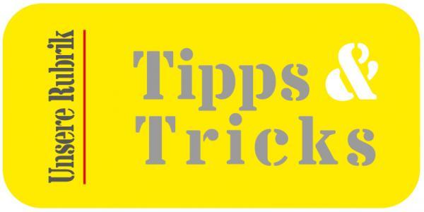 """Rubrik """"Tipps & Tricks"""" der Weiterbildung Hauswirtsschaft"""