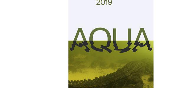 Plakat AQUA des Naturhistorischen Museums Basel