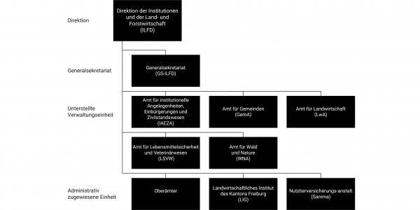 Organigramm der ILFD