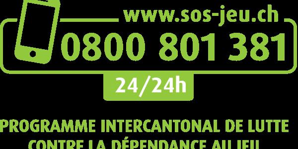 Logo www.sos-jeu.ch