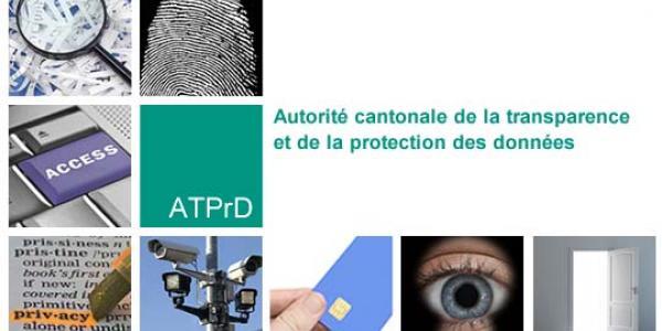 Image d'accueil du site de l'Autorité cantonale de la transparence et de la protection des données