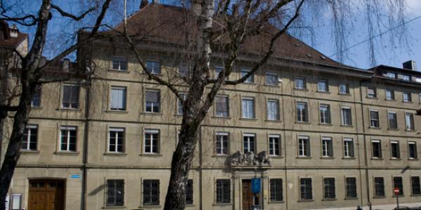 La Chancellerie d'Etat, façade sud du bâtiment central, 1737 et 1827, les deux annexes, 1843