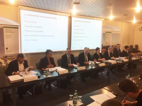 Le Conseil d'Etat présente son programme gouvernemental et son plan financier pour la nouvelle législature