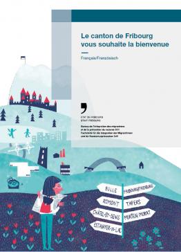 Une brochure de bienvenue pour accueillir les nouveaux habitant-e-s du canton de Fribourg