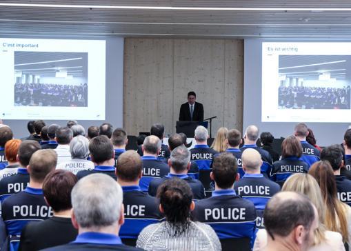 Organisation de la Police cantonale