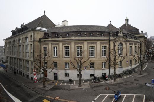 Gebäude der Kantons- und Universitätsbibliothek