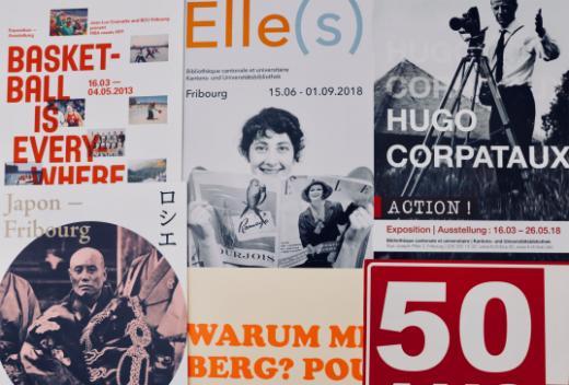 Ausstellungen an die Kantons- und Universitätsbibliothek