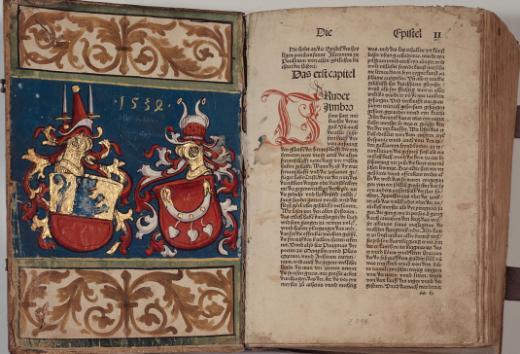 Inkunabeln in der Kantons- und Universitätsbibliothek