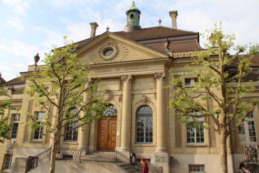 Präsentation der Kantons- und Universitätsbibliothek