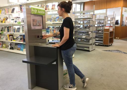 Prêt à la Bibliothèque cantonale et universitaire