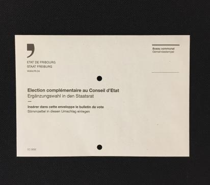 Votations fédérales : enveloppes de vote