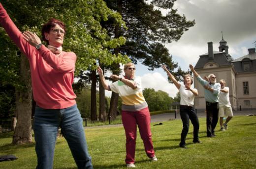 Sport des seniors 60 ans et plus