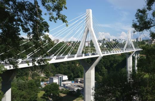 Le Pont de la Poya a coûté 209,9 millions de francs