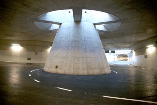 Le Pont de la Poya: les ouvrages souterrains