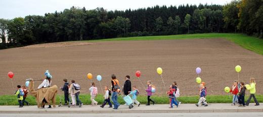 Pédibus - à pied à l'école