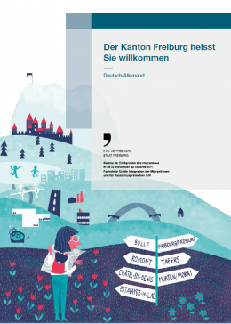 Begrüssungs- und Informationsbroschüre in 10 Sprachen für neue Einwohnerinnen und Einwohner des Kantons