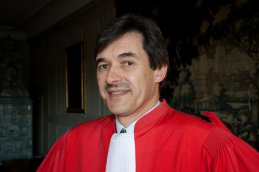 Pensionierung von Kantonsrichter Hubert Bugnon