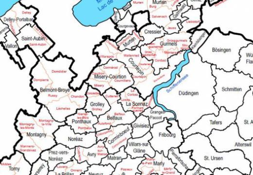 Cartes - Communes et secteurs