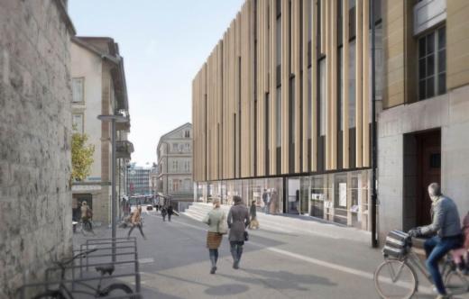 Eine Kantons- und Universitätsbibliothek für das 21. Jahrhundert