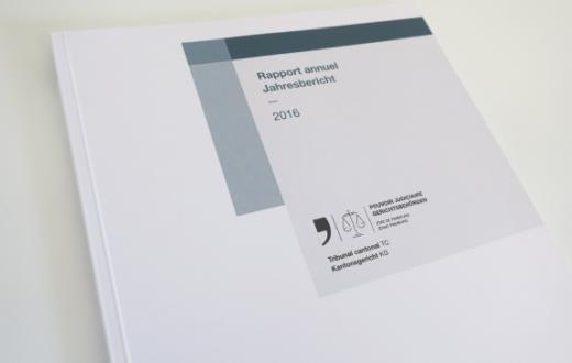 Rapports annuels du Tribunal cantonal