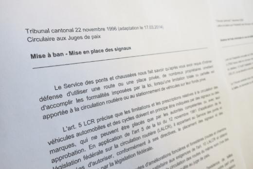 Directives du Tribunal cantonal