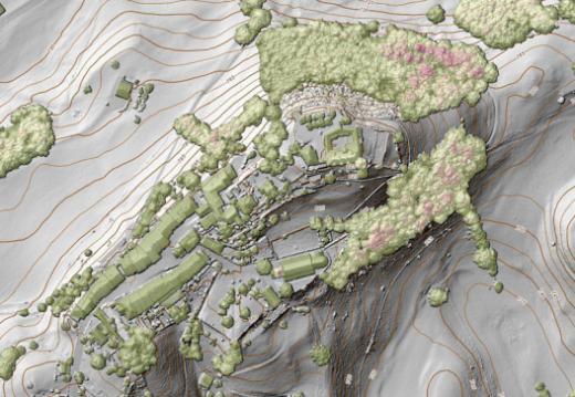 L'altimétrie, nouveau thème du portail cartographique du canton