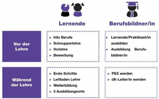 Lehrstellenangebot beim Staat Freiburg