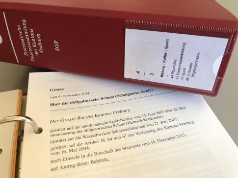 Gesetze, Reglemente, Richtlinien -  EKSD