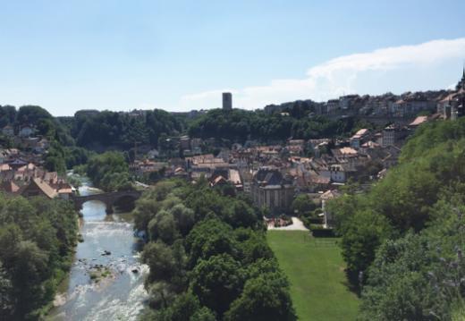 Le Conseil fédéral en visite à Fribourg, le 6 juillet 2018