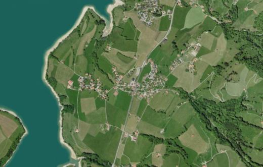 Etablissement du registre foncier fédéral de la commune de Hauteville