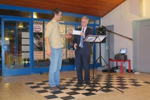 Le 10ème prix d'encouragement à la formation des adultes attribué à l'association le Square Marly
